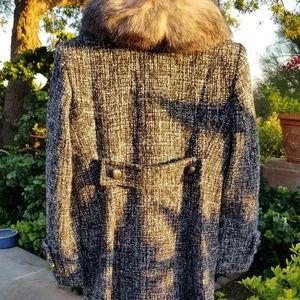 Express Jackets & Coats - Fur Collar Overcoat and Dress